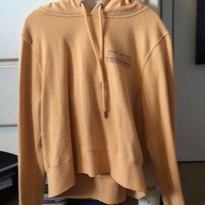 Kids Volcom Yellow Hoodie with Strings